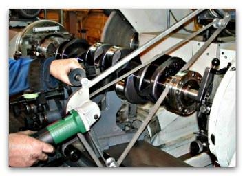 Технология шлифовки шеек коленчатого вала